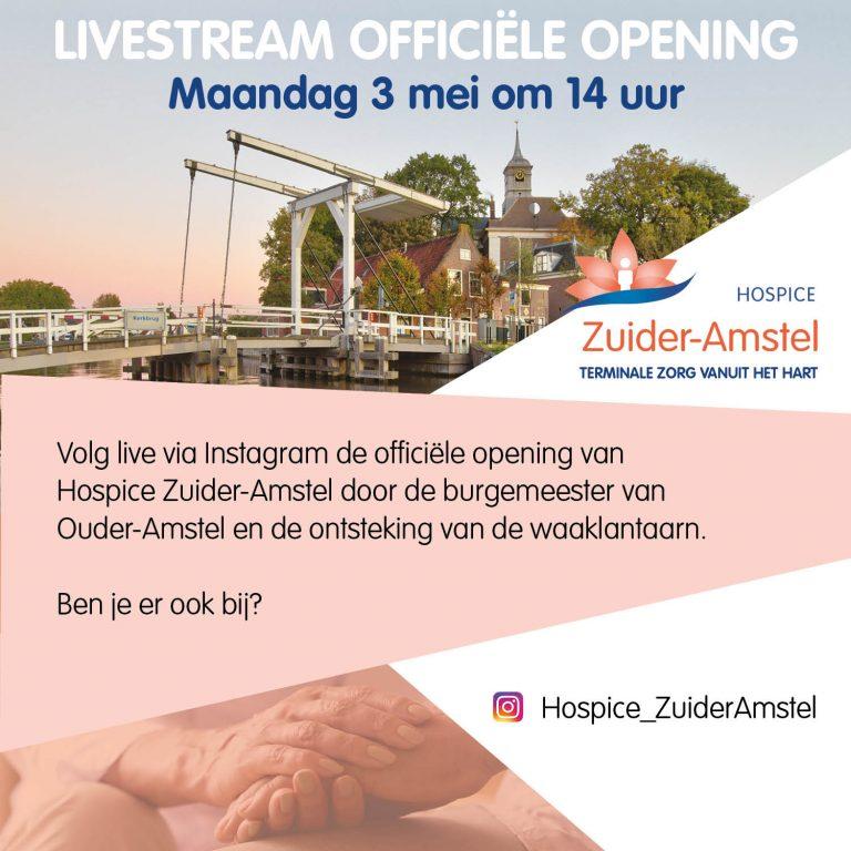 Hospice Zuider-Amstel opent haar deuren